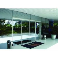 Very Slim Auto Sliding Door Operator Commercial Automatic Sliding Doors Drive With Silvery Frame