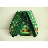 Side Sealed Tea Packing Bags Biodegradable , Heat Seal Tea Bags Valve