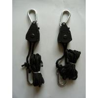 """Cheap Hydroponic Accessories 1/8"""" adjustable rope ratchet For air cooled reflector wholesale"""