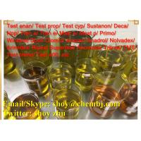 China Oral Yellow Liquid Anabolic Steroids Drostanolone Enanthate 472-61-145  for Body Building With Fast Delivery wholesale