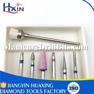 30 Pcs Jewelry Drill Bits Set , Diamond Drill Bits For Jewelry Making Spindle Dia 2.35mm