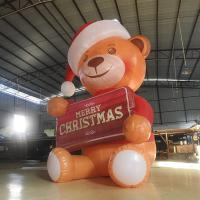 Buy cheap Mini 2.6M Oxford  Inflatable Bear/Inflatable Model bear  With LED Light For Advertising /  Decoration from wholesalers