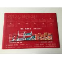 Cheap Office Smooth Rubber Desk Pad Calendar Table Mat with large Size wholesale