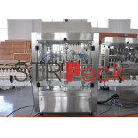 Corrosive Liquid Filling Machine with PLC and Touch Screen Control for Chemical