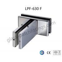 High Tensile Patch Fittings For Glass Doors , Glass To Glass Connectors Long Lifetime