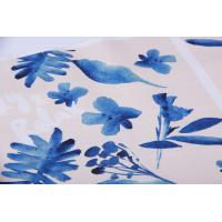 China Digital Inkjet Printing / Cotton Canvas Fabric With Beautiful Pattern wholesale