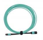 China MPO/PC/F to MPO/PC/F for OM3 with 12B 3.0mm for 1M/5M/10M OFNP/LSZH Aqua B wholesale