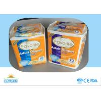 China M-L-XL Size Overnight Diapers For Adults / Chemical Free Disposable Diapers wholesale