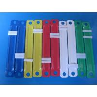 Cheap School supply Plastic paper fastener and clip , plastic book binding wholesale