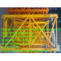 Cheap Flat Head Tower Crane Standard Section / Safe Standard Mast Section F0/23B wholesale