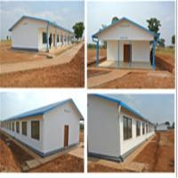 Cheap Prefabricated Steel House for Hotel/Worker Camp Lighting Roof house wholesale