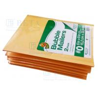 Cheap Retail Shrink Pack Kraft Bubble Mailer 2pk #0 With Custom Label wholesale