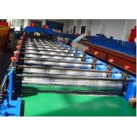 Buy cheap 18 stations Glazed Tile Roll Forming Machine / Roof Panel Roll Forming Machine 5.5KW from wholesalers