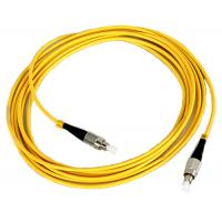 China FC Fiber Optic Patch Cord Low insertion loss high return loss wholesale