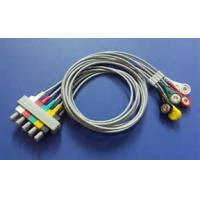 China 8 Pin Philips 5 Lead Ecg Cable , M2406A / M1733a Ecg Trunk Cable 3.6m Length wholesale