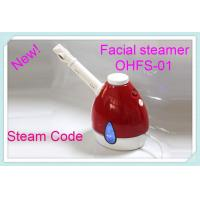 Cheap Portable handheld Skin Care Facial Steamer Red For Removal Deep Dirt wholesale