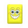 Cheap Anti - Compressive Yellow SpongeBob Ipad 2/3 Silicone Cases / Color Filled Logo wholesale