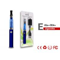 Cheap 900mAh 900Puffs Colorful EGO CE4 Electronic Cigarette Tank Atomizer wholesale