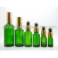 Cheap Green Essential Oil Bottles With Sprayer and Droppers wholesale