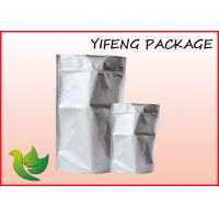 Cheap Stand Up Aluminum Foil Bag With Zipper For Food Packaging wholesale