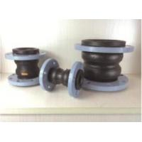 KST-F type Dual-ball flexibacter damping rubber pipe joints, Nylon cord fabric, Steel wire strand