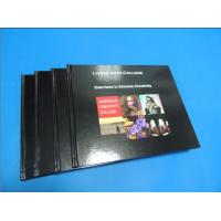 Cheap Commercial Black glossy paper Hardcover Coffee Table Book Printing Services wholesale