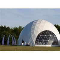 Buy cheap Typical Structure Geodesic Dome Tents For Large Commercial Activities from wholesalers