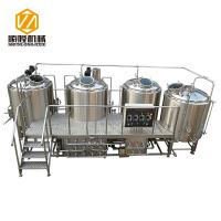 SL-1200 Commercial Brewing Equipment Stainless Steel / Red Copper Material