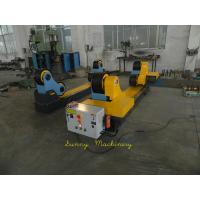 Cheap Automatic 5T Self-aligned Welding Rotator with Wireless Control Panel , Yellow wholesale