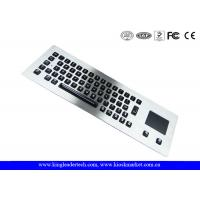 Cheap Illuminated Metal Keyboard With Optical Trackball With 65 Backlit Keys wholesale