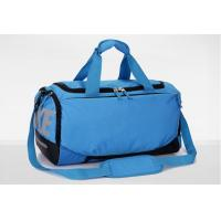 Cheap OEM Nylon Ripstop Blue Sports Bags Mens Travel Duffel Bag Lightweight wholesale