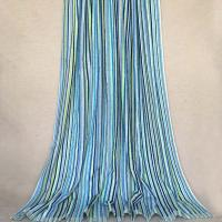 China Plain Dyed Beach Bath Towels / Striped Beach Towels With Multi Color wholesale