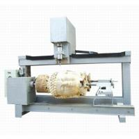 Cheap 2heads 3D cylindrical wood carving machines cnc router 4axis china manufacture exporter google wholesale