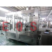 Customized Voltage Automatic Liquid Bottle Filling Machine 8000BPH 3in1 monobloc