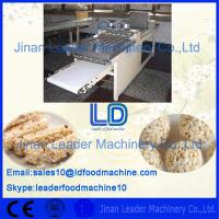 Cheap 304 Stainless Steel Automatic Nutrition Bar Product machinery/ Making machine wholesale