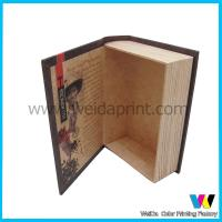 Cheap Book Shaped Decorative Cardboard  Paper Packaging Boxes for Gift wholesale