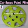 Cheap 400ml/auto rubber spray paint/removable plasti dip/orange black green orange blue red/liquid aerosol flexible car paint wholesale