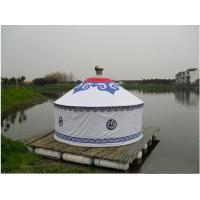 China Anti - Ultraviolet Mongolian Yurt Tent With Thickening Acupuncture Cotton wholesale