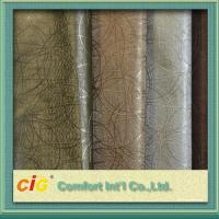 China Multi Color High Abrasion PVC Artificial Leather Fabric  0.5 - 2mm Fake Leather Material wholesale