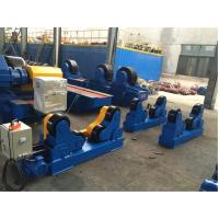 Professional 80 Ton Capacity Automatic Tank Welding Turning Roll PU Wheels Rollers