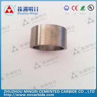 China Grade YG22C Tungsten Carbide Roller Rings good wear resistance and bending strength wholesale