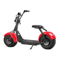 China Double Disc - Braking 2 Wheel Electric Scooter Citycoco Colorful Adult Application wholesale