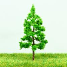 Cheap G6524 HO Railroad Layout Miniature Model Trees Roadside Green Wire Palm Tree 6.5cm wholesale