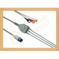 Generic AAMI ECG Patient Cable 6 Pin 5 Leads PVC Insulation Solid Conductor
