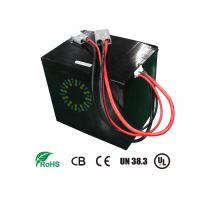 48V 40Ah Rechargeable Lithium Ion Motorcycle Battery For Electric Scooters High energy density