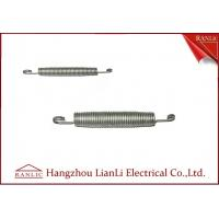 Buy cheap Black / White Zinc Plated PVC Pipe Bending Spring 20MM 25MM , ISO9001 from wholesalers