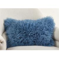 """Quality Luxury 100% Real Mongolian Fur Pillow For Home Bedroom Decorative 12"""" X 20"""" for sale"""