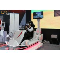 9D VR Racing Simulator Coin Operated Multi-Player Interactive Virtual Reality Racing Driving Machine