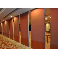 Multi-Purpose Room Internal Bi Fold Doors , Sliding Internal Doors For Meeting Room