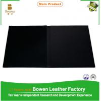 Cheap High quality certificate holder file folder in black color wholesale